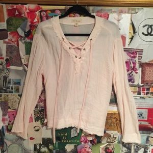 Cloth & Stone Long Sleeve Blouse